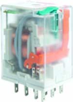 Industrial plugin electromagnetic relays