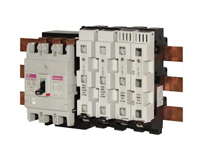 D Sicherungs-Lasttrennschalter und Sicherungssockel