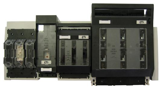 NH-Sicherungslasttrennschalter und Sicherungssockel